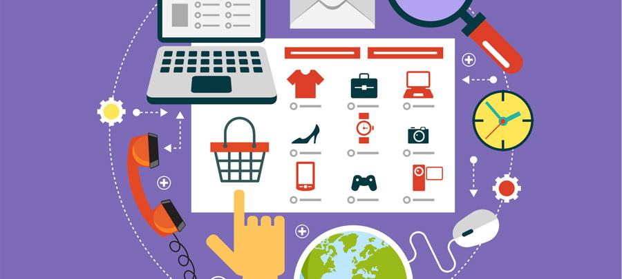 Организация работы интернет магазина