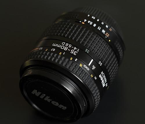 Выбор объектива на Nikon