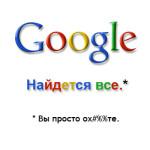 Интересные команды для поиска в Google