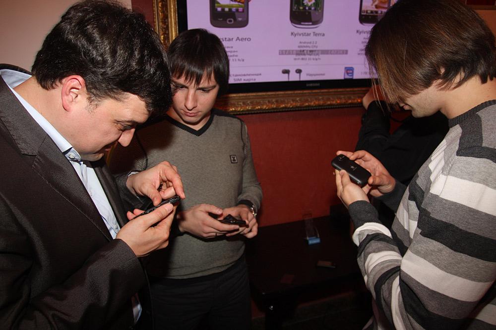 Презентация смартфонов от Киевстар в Житомире