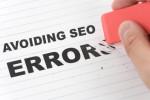 Популярные ошибки и недочеты при продвижении сайта