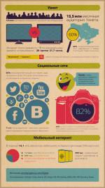 Статистика интернет аудитории Украины 2013 год