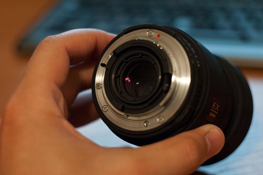 Фото объектива Sigma 50mm f2.8 macro