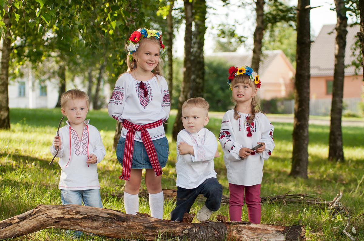 Фотография детей без шевеленки, выдержка 1/1250, ISO-500