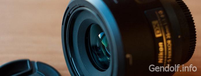 Обзор объектива Nikon 35 mm