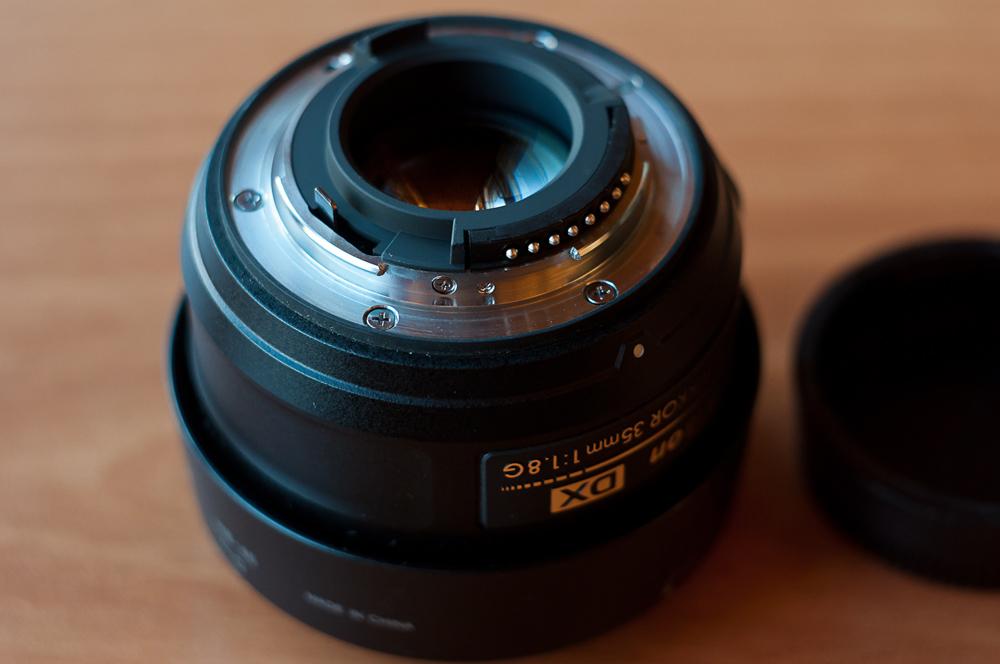 Фото объектива Nikon 35mm f1.8G