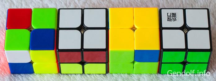 Как собрать кубик Рубика 2х2