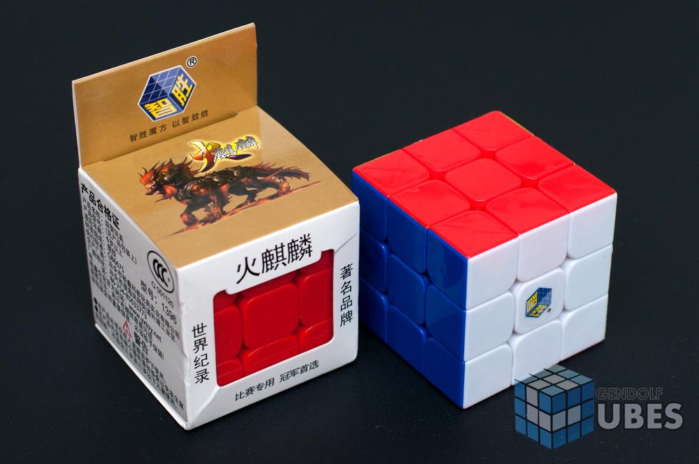 Купити кубик Рубіка Fire Kylin 3x3x3 (без наклейок)