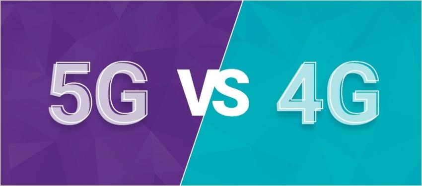 Різниця між 4G та 5G